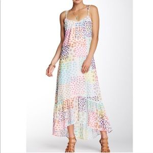 Tori Richard Colorful Serena Maxi Dress